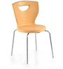 Novella Series - 15 Set of 2 Chairs in Biscuit Color by Nilkamal