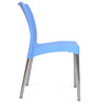 Novella Series - 7 Set of 2 Chairs in Blue Color by Nilkamal