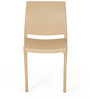Novella Series - 8 Chairs in Biscuit Colour by Nilkamal - Set of 2