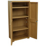 Novelty Big Plus Storage Cabinet in Wood Colour by Cello
