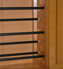 Novelty Compact Shoe Rack in Brown Colour by Cello