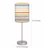 Nutcase Multicolour Fabric Table Lamp