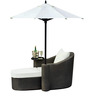 Oasis Lounger & Ottoman Set by Loom Crafts