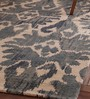 Obeetee Ivory Cotton 96 x 60 Inch Printed Carpet