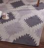 Obeetee Regal & Blue Wool 96 x 60 Inch Phoenix Dhurrie
