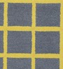 Obeetee Steel Wool 96 x 60 Inch Window Pane Carpet