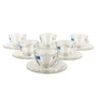 Ocean Cosmo Tea Cup 230 ml With Saucer Set