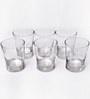 Ocean Ethan Double Whisky Tumbler Glasses - Set of 6