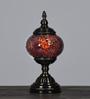 Oddcroft Orange Glass Table Lamp