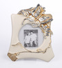 Micasa Gold Polyresin 8.25 x 10 Inch Butterfly Photo Frame