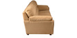 Ohio Three Seater Sofa in Beige Colour by HomeTown