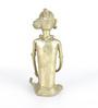 Olha-O Golden Bell Metal Chaki Wali Figurine