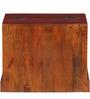 Munimji Writing Desk in Honey Oak Finish by Mudramark