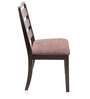 Omaha Dining Chair in Brown Colour by @ Home