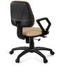 Omega Medium Back Ergonomic Chair in Beige Colour by Debono