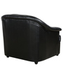 One Seater Sofa in Black Colour by Parin