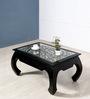 Opium Coffee Table in Espresso Walnut Finish by Mudramark