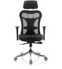 Optima Executive Chair in Black Colour by Oblique