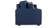 Oritz Three Seater Sofa with Cushions in Teal Blue Colour by CasaCraft