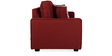 Oritz Two Seater Sofa with Cushions in Burnt Sienna Colour by CasaCraft