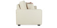 Oritz Two Seater Sofa with Cushions in Pale Taupe Colour by CasaCraft