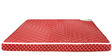 Orthomatic Regular Bonded 4 Inches King Size Foam Mattress in MultiColour by Godrej Interio