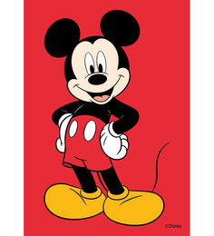 Licensed Disney Mickey Mouse Digital Printed With Laminated Wall Poster - 1537622