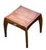 Monroe Bedside Table in Natural Sheesham Wood Finish by Woodsworth