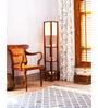 Orange Tree Off White Cotton Millan Floor Lamp