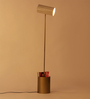 Orange Tree Off White Iron Midas Floor Lamp