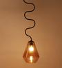 Orange Tree Orange Glass Sadie Hanging Lamp