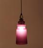 Orange Tree Purple Glass Tasha Hanging Lamp