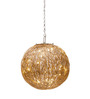 Orange Tree Talish Wire Mesh Gold Pendant