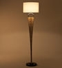 Orange Tree White De Cotton Tinker Floor Lamp