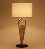 Orange Tree White De Cotton Tinker Table Lamp