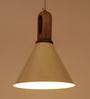 Orange Tree White Iron Aeron Hanging Lamp