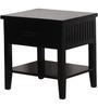 Lynnwood Solid Wood Bed Side Table in Espresso Walnut Finish by Woodsworth