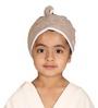 Mummas Touch Organic Beige Hair Wrap Towel (3 - 5 Years)