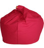 Organic XXL Size Bean Bag Covers without Beans in Pink Colour by REME