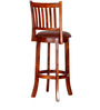 Oriel Bar Chair in Honey Oak Finish by Amberville