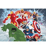 Licensed Team Avengers Digital Printed Folding Laptop Table by Orka