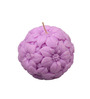 Orlando's Decor Candle Lavender Carved Ball Candle