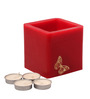 Orlando's Decor Candles Red Butterfly Luminary Candle