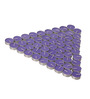 Orlando'S Decor Non Aromatic Violet Tea Light Candle - Set of 50