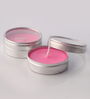 Orlando's Decor Rose Aromatic Travel Tin Candles - Set of 2