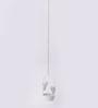 Orlando's Decor White Metal Single Butterfly Hanging Tea Light Holder