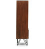 Oslo Small Bookshelf in Walnut Finish by The ArmChair