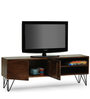 Oslo TV Unit in Walnut Finish by The ArmChair