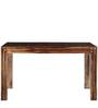 Fallon Eight Seater Dining Set in Provincial Teak Finish by Woodsworth