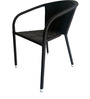 Outdoor Chair in Black Colour by Suvika Lifestyles